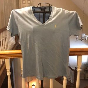 V-Neck Polo Tee by Ralph Lauren NWOT- Size XL